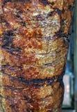 Chiche-kebab turc de Doner de nourriture - shawarma arabe photo stock