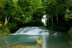 Chichel vattenfall Arkivfoton