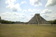 Chichem Itza complex in Mexico Royalty Free Stock Photography