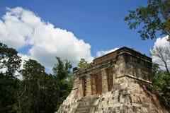 chichen den mayan itzaen fördärvar Arkivfoto