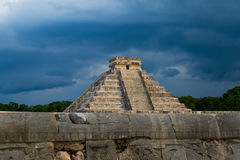 Chichén Itzá Pyramid Stock Images