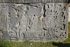 chichen itza玛雅墨西哥废墟 库存图片
