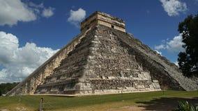 Chichen Itza, των Μάγια πυραμίδα Yucatan, Μεξικό Αυτό ` s ένα από στοκ εικόνες με δικαίωμα ελεύθερης χρήσης