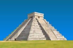 Chichen Itza των Μάγια απεικόνιση αποθεμάτων