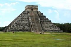 Chichen Itza - пирамида Стоковое Изображение