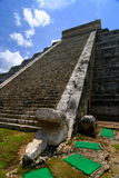 Chichen Itza. Mayan Pyramid in Mexico Royalty Free Stock Images