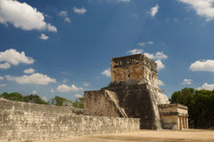 Chichen Itza. Ancient Aztec ruins at Chichen Itza, Mexico Royalty Free Stock Images