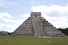 Chichen Itza. Is a large pre-Columbian archaeological site built by the Maya civilization located in the northern center of the Yucatán Peninsula, in the Yucat Royalty Free Stock Photo