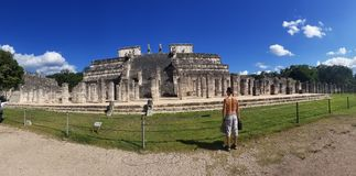 Chichen Itza royalty-vrije stock foto's