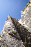 Chichen Itza. Ruins. Particular in Chichen Itza - Yucatan - Mexico Royalty Free Stock Images