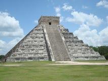 Chichen itza. Pyramid in Mexico Stock Image