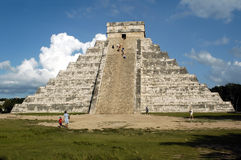 Chichen Itza. A place of workship for the mayans Royalty Free Stock Images