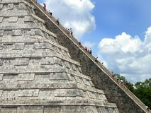 Chichen-itza 2. Another shot of the chichen-itza ruins Stock Image