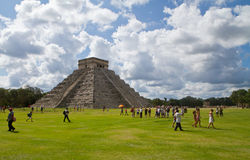 Chichen Itza. Site in Yucatan, Mexico Royalty Free Stock Photography