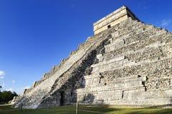 Chichen Itza. Feathered serpent pyramid, Mexico Stock Photo