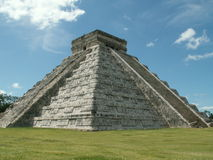Chichen Itza. Photo of Chichen Itza temple in Yucatan peninsula, Mexico Stock Photography