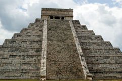Chichen Itza. The Great Pyramid Royalty Free Stock Image