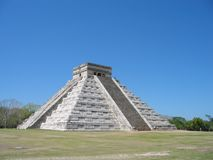 Chichen Itza. Ancient city of Chichen Itza, mexico royalty free stock photos
