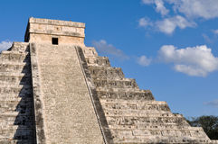 Chichen Itza Ancient Mayan Ruins Stock Photography