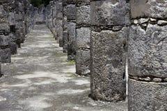Chichen Itza. Ancient Mayan temple detail at Chichen Itza, Yucatan, Mexico Stock Images