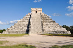 Chichen Itza Ancient Ruins in Mexico Royalty Free Stock Image