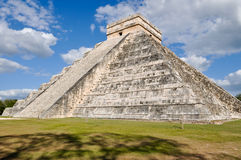Chichen Itza Ancient Ruins in Mexico Stock Images
