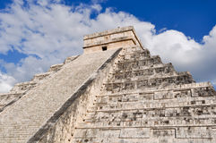 Chichen Itza Ancient Ruins in Mexico Royalty Free Stock Images