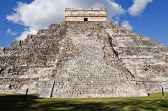 Chichen Itza Ancient Ruins in Mexico Stock Photo