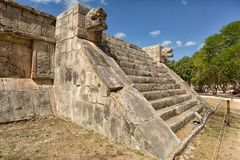 Chichen Itza archaeological site in Mexico Royalty Free Stock Images
