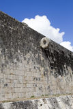 Chichen Itza Ball Court. Close up Royalty Free Stock Images