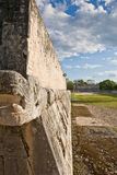 Chichen-Itza ball court Stock Photography