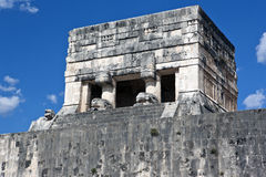 Chichen Itza, Ball court. Royalty Free Stock Image
