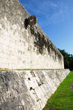 Chichen itza, ballcourt goal. Yucatan, Mexico Royalty Free Stock Photography