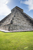 Chichen-itza. The beauty of the mayan culture in Yucatan,the pyramid of chichen-itza Royalty Free Stock Images