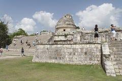 Chichen Itza Beobachtungsgremium Stockbilder