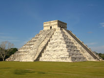Chichen itza castillo 1 Royalty Free Stock Images