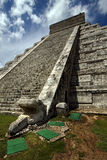 Chichen itza the castle Stock Images