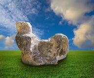 Chichen Itza Chac Mool sculpture illustration royalty free stock image