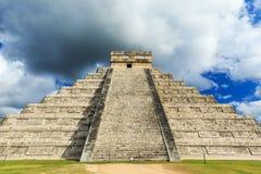 Chichen-Itza (Chichen Itza), Мексика Стоковые Фотографии RF