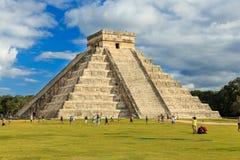 Chichen-Itza (Chichen Itza), México Fotografia de Stock
