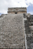 Chichen Itza east side Royalty Free Stock Photos