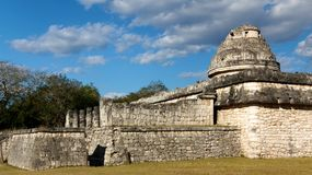 Chichen Itza El Caracol Complex royalty free stock images