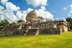Chichen Itza - El Caracol Royalty Free Stock Images