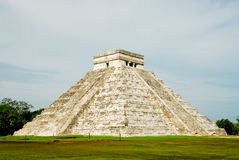 Chichen itza, El Castillo Royalty Free Stock Photos