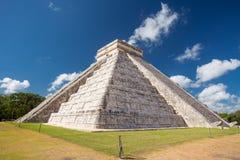 Chichen Itza, El Castillo Temple of Kukulkan, Yucatan, Mexico. Chichen Itza, El Castillo Temple of Kukulkan in Yucatan, Mexico Stock Photo
