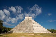 Chichen Itza, El Castillo, Yucatán, México Imagen de archivo libre de regalías