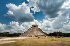 Chichen Itza en México Fotos de archivo