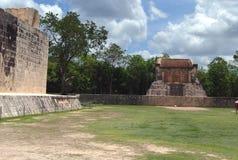 Chichen Itza fördärvar i Mexico Royaltyfri Fotografi