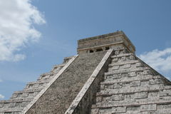 Chichen Itza genaueres hohes Stockfoto