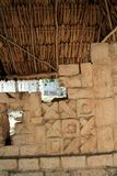 Chichen Itza hieroglyphics Mayan ruins Mexico Royalty Free Stock Image